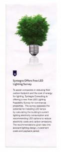 Syntegra offers Free LED lighting survey