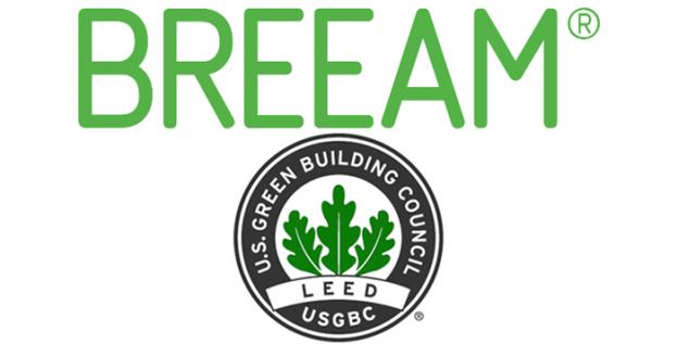 BREEAM and LEED logos